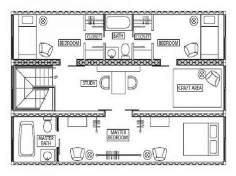 Container Floor Plans by 40 Foot Container Home Plans Joy Studio Design Gallery