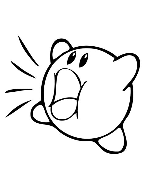 printable coloring pages kirby kirby coloring pages coloring home