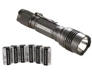 Police Strobe Lights Streamlight Protac Hl Tactical Flashlight With Six Extra