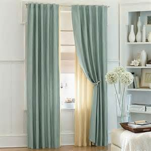 Blue Curtain Ideas Ways To Use Sheer Curtains And Valences