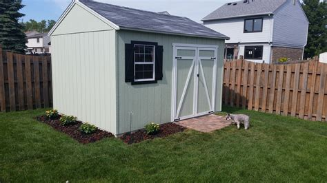 Heartland Shed by Gentry 12ft X 10ft Heartland Industries