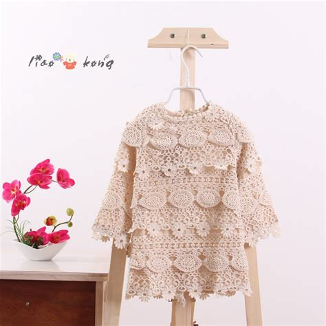 White Flower Crochet Dress crochet lace flower dress retro leaf lace