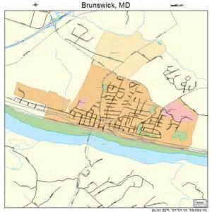 brunswick map brunswick maryland map 2410900
