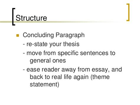 How To Conclude A College Essay by Essay Conclusion