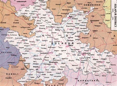 road map from mapusa to pandharpur my maharashtra road routes map pandharpur solapur district