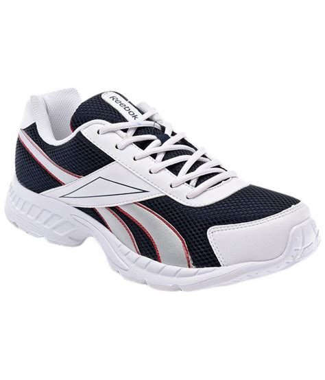 sports shoes reebok running sports shoes j19865whtsilred buy