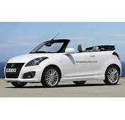 Suzuki Swift Imagined As A Cabriolet  Rendering