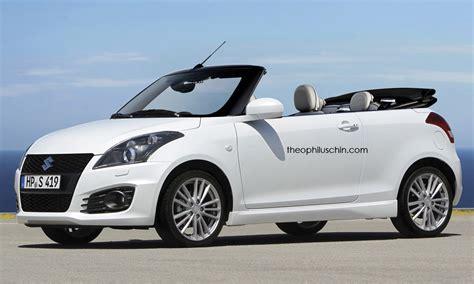 Suzuki Convertible Maruti Convertible Would You Fancy One