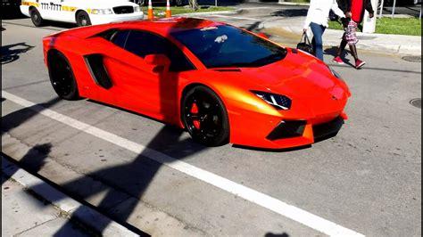 Lamborghini On The Lamborghini Aventador Lp700 4 Supercar On The