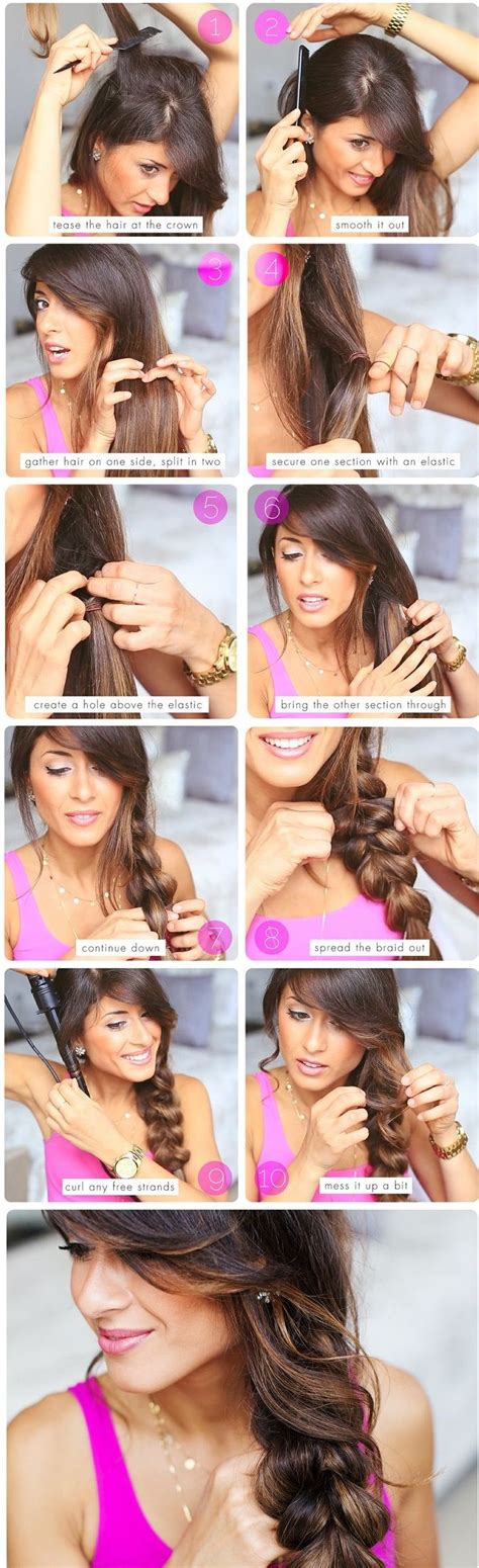 these are some easy hairstyles for school or 25 braided hairstyles for your easy going summer