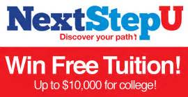 Win Free Tuition Giveaway - sweeps promos fastweb