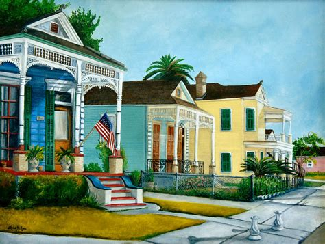 Plantation Home Plans historic louisiana homes painting by elaine hodges