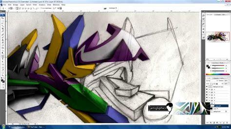 graffiti agenda  photoshop   tool  tablet