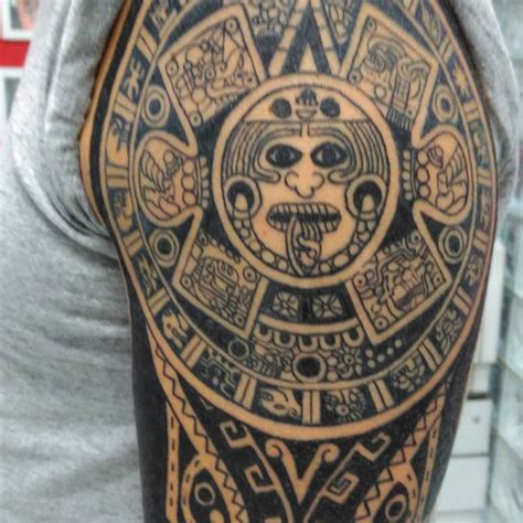 80 unique aztec tattoo designs