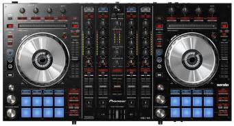 pioneer dj decks and mixer pioneer ddj sx serato dj 4 deck controller pssl