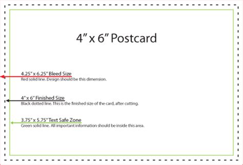 standard postcard template pin standard postcard size postal guide design sle on