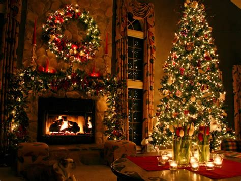 Beautifully Decorated Homes Pictures by Christmas Tree Instachallenges