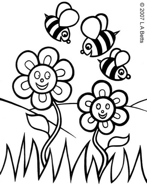 printable springtime flowers printable spring flowers az coloring pages