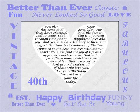 Happy 40th Birthday Quotes For Husband 40th Birthday Quotes For Friends Quotesgram