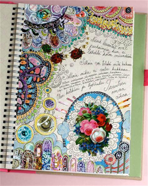 art design education journal pretty art journaling peony and parakeet