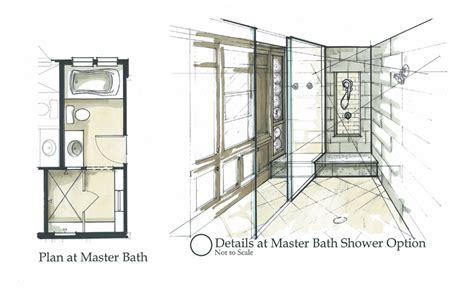 How To Draw Interior Perspective From Plan by Daedalus Design Studio