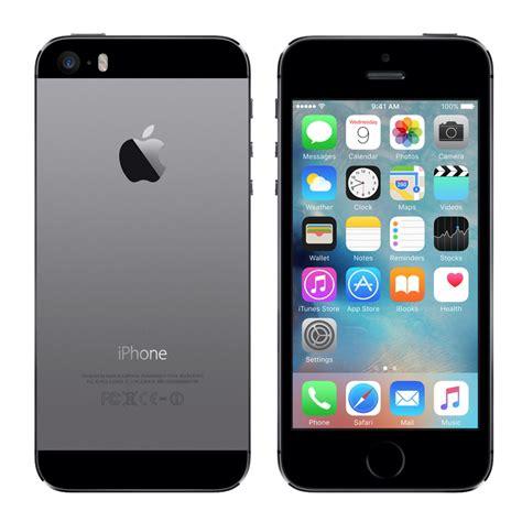 Iphone 5s 16 Gb Gray Free New Bb 9350 sim free apple iphone 5s space grey 16gb premium pre owned technog