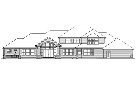 The Laurelwood House Plan Classic House Plans Laurelwood 30 722 Associated Designs