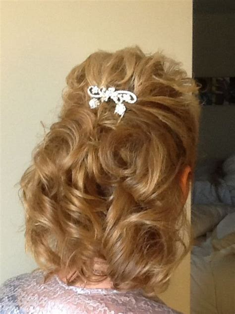 pinup hairstyle mother bride mother of the bride hair wedding looks by francesray