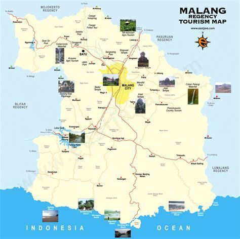 Peta Wisata Kabupaten Dan Kota Malang