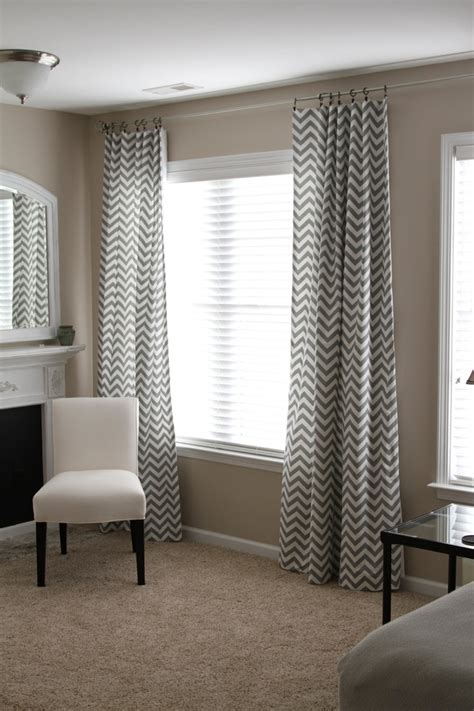 chevron bedroom curtains bedroom curtain gray chevron curtains sensational pattern