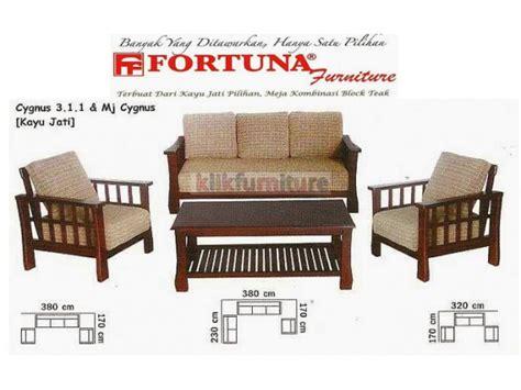 Sofa Bed Kayu harga sofa fortuna cygnus 311 sofa jati kualitas pilihan