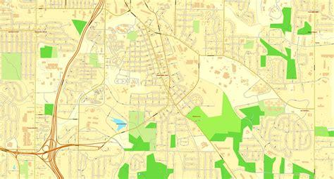 us map atlanta atlanta us vector map adobe illustrator