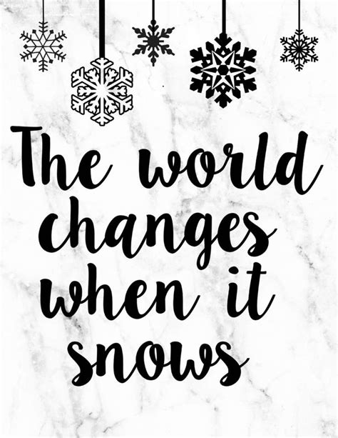 best 25 snow quotes ideas on