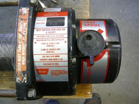 warn winch m6000 wiring diagram wiring diagram