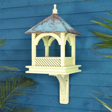 Wall Mounted Bird Feeder large chelsea wall mounted bird feeder table by garden selections notonthehighstreet
