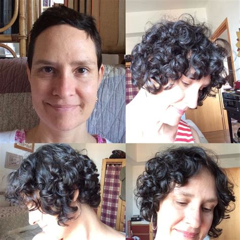 chemo curls and how long the curls last 44 best hair back post chemo 2016 images on pinterest