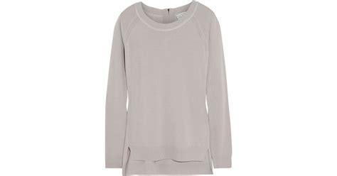 Dress Amida lyst dagmar amida merino wool sweater in gray