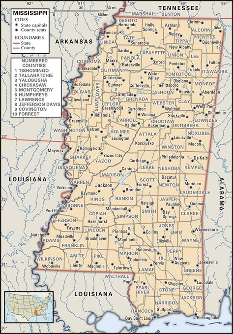 map of ms state and county maps of mississippi