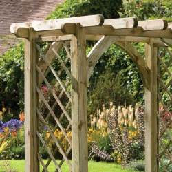 Arches And Pergolas by Forest Premier Pergola Arch 244 X 182 X 136cm Buy