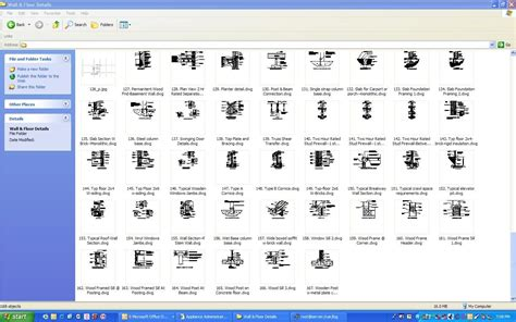 Cmu Floor Plans by Autocad Construction Details Drawing Details Library