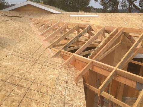 a frame roof pitch roof framing geometry off angle california valley framing