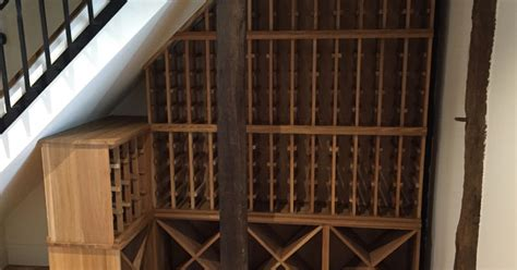 stairs wine rack stairs wine rack in hertfordshire wine cellars and