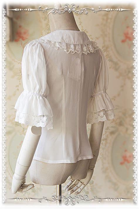 Jsk 9102 Size 35 38 infanta striped puff sleeve blouse