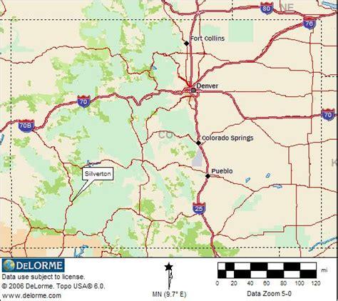 silverton oregon map colorado rv cing silverton rv cing