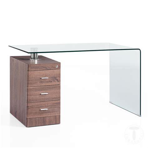 scrivania in vetro curvato scrivanie scrivania in vetro curvato bow wood