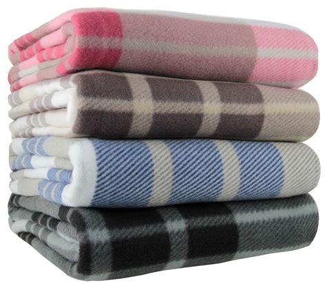 how to put a throw blanket on a sofa tartan check polar fleece throw blanket 125cm x 150cm blue