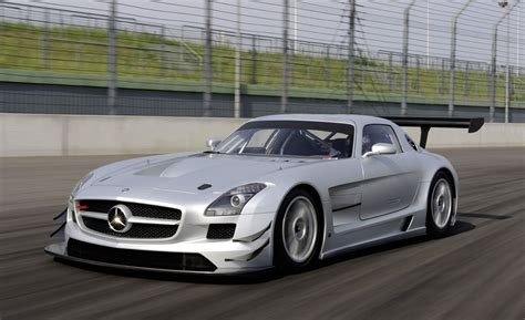 Mercedes Sls Amg Gt3 by Mercedes Sls Amg Gt3 Racing Version Of The Gullwing