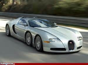 6 Wheel Bugatti Bugatti Veyron Tiger Car With Six Wheels Pictures
