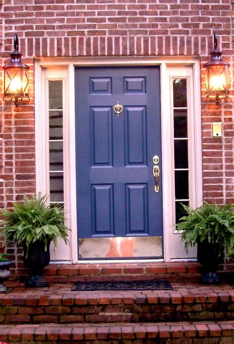 door colors for red brick houses red brick house door colors door i love this color
