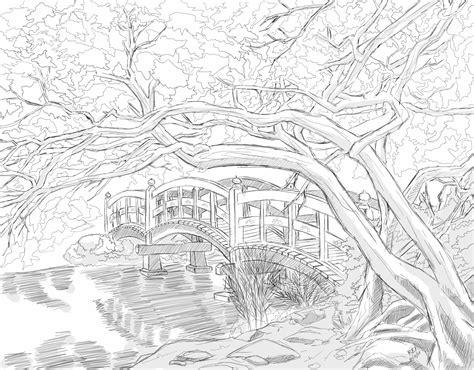 japanischer garten zeichnung saatchi the japanese garden 2014 drawing by corn